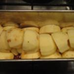 Gateau-aux-pommes-Mettre les pommes
