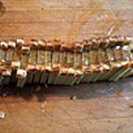 Mini-paté-en-croute-pintande Trancher le pâté