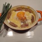 Oeuf-cocotte-à l'andouillette Pret à cuire