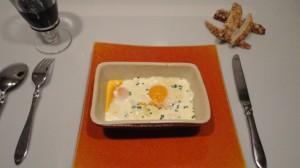 Recette de Œuf cocotte aux fromages