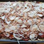 Pizza-au-boeuf-Ajouter les oignons