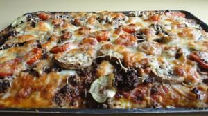 Recette de Pizza au boeuf