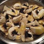 Rognon-au-madère-Saisir-les champignons