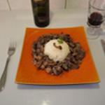 Rognon-de-porc-Rognon en assiette
