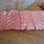 Saumon en croute Retirer les arêtes