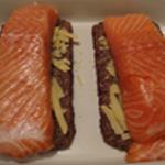 Saumon en croute Saler le saumon