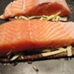 Saumon en croute Poivrer le saumon