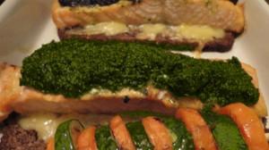 Recette de Saumon en croute