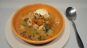 Recette de Soupe de saumon