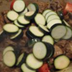 Tajine à l'agneau -Ajouter-les légumes