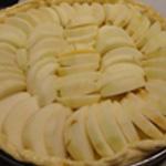 Tarte-aux pommes -Ranger les pommes