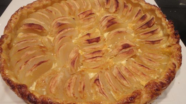 Tarte-aux pommes -Terminer