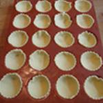 Tartellette-andouillette-Remplir les moules