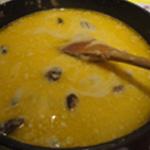 fondue-aux-morilles-Fondre le fromage