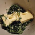 Beurre-escargot-Ajouter le beurre