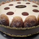 Charlotte au chocolat crecle et bandeau