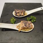 Cuillère de Saumon-Cuit