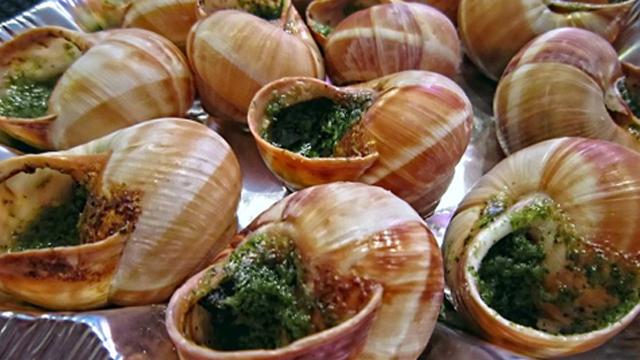 Escargots-recette Terminer