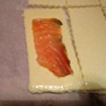 Feuilleté-au-saumon-fumé Poser une tranche