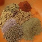 Magret-de-canard-séché-préparer les épices