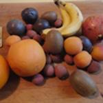 Salade de fruits les ingrédients
