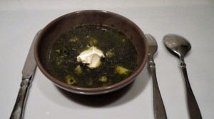 Recette de Soupe aux épinards