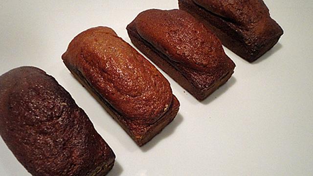 Pain épices et chataignes Les pains d'épices cuits