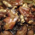 Queue de cochon Queue cuite