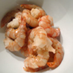 Tagliatelles aux crevettes Décortiquer les crevettes