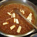 Caramel au beurre salé Ajouter le beurre