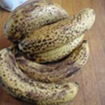 Clafoutis de banane Bananes bien mures
