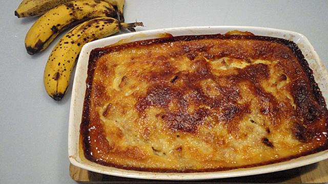 Clafoutis banane Terminer
