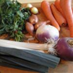 Fromage de tête Les légumes