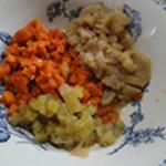 Hachis parmentier carotte, navets, Fenouil