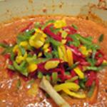 Lasagnes jambon Couper en lamelle les poivrons