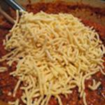 Lasagnes jambon Ajouter le fromage