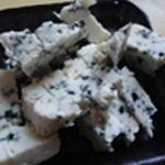 Panacotta Roquefort Couper le fromage