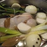Poule au pot Couvrir d'eau