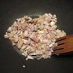 Rognons de boeuf et champignons Saisir les lardons
