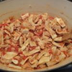 Tripes à la tomate Ajouter les tripes