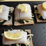 Roti de cabillaud Comté puis poisson