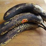 Clafoutis bananes Frambois Les bananes mures
