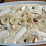 Clafotis bananes Framboises Plus qu'a cuire