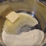 Croissant au jambon Fondre le beuure