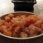 Fondue poulet Sortir le poulet 1/2 heure