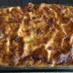 Lasagnes à la ricotta Lasagnes cuites