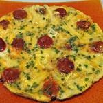 Omelette chorizo Terminer