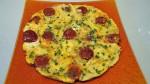 Omelette chorizo