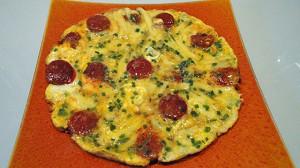 Recette de Omelette chorizo