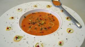 Recette de Soupe à la tomate